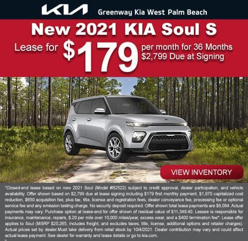 New 2021 Kia Soul S