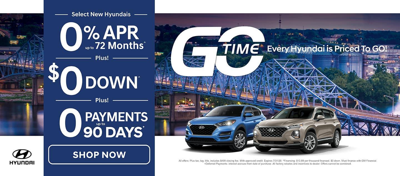 Go Time Sales Event - Hyundai
