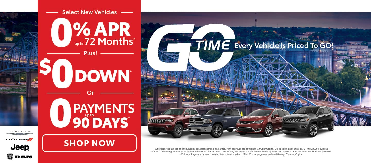 Go Time Select New Vehicles