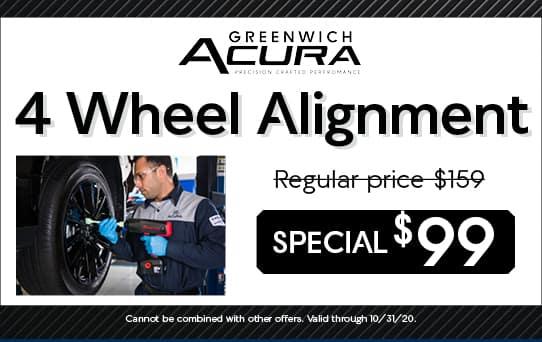 4 Wheel Alignment | Greenwich, CT