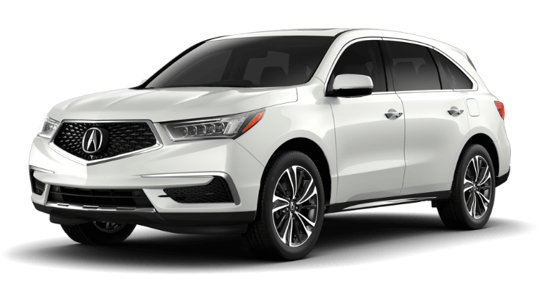 2020 Acura MDX Technology Package - Platinum White
