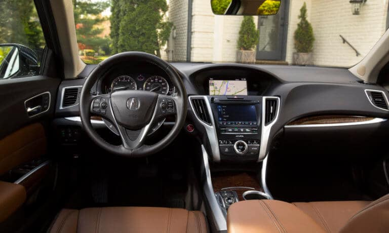 2020 Acura TLX interior front