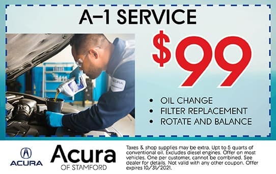 A-1 Service Special   Acura of Stamford