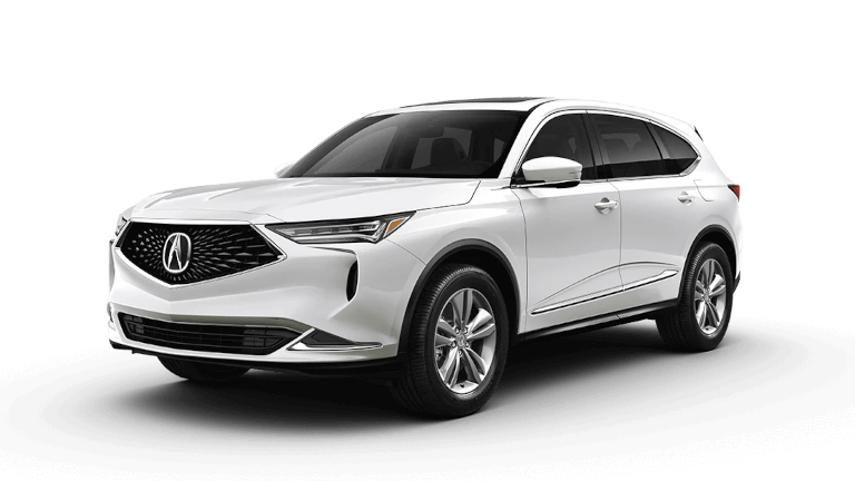 2022 Acura MDX Base in Platinum White Pearl