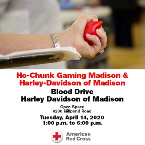 Red Cross Blood Drive - 4/14/20