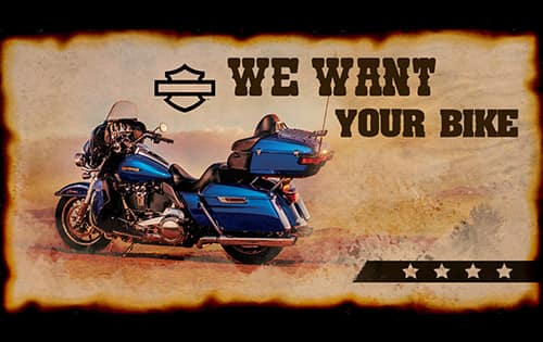 We Want Your Bike