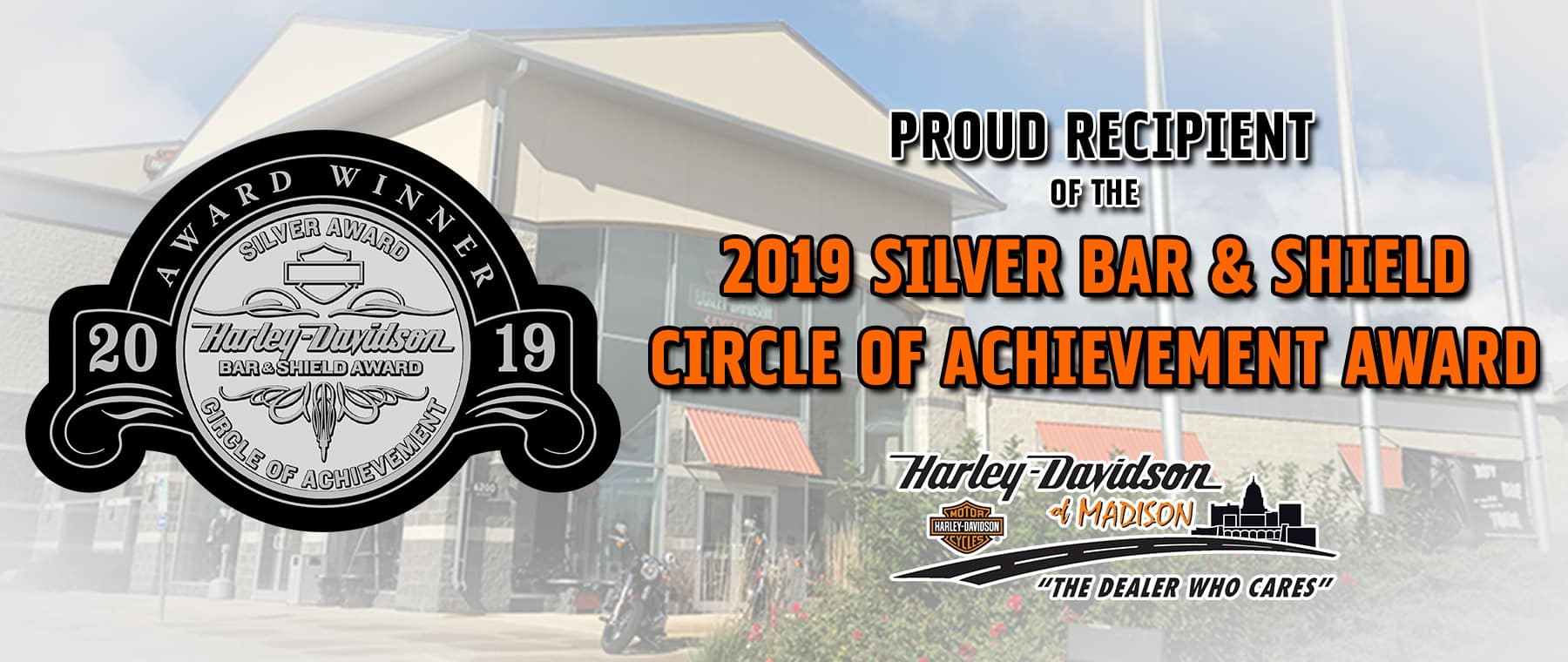2019 Silver Bar and Shield Award Winner