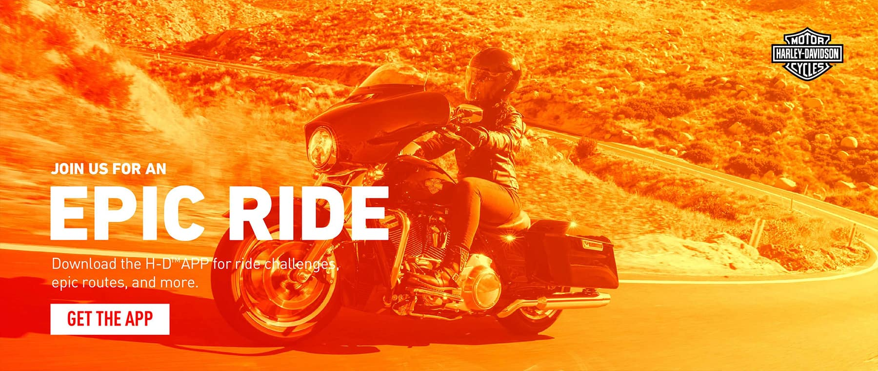 Epic Ride - Get the H-D App