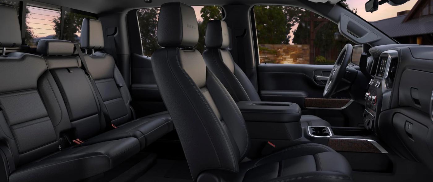 2020 GMC Sierra interior leather seats