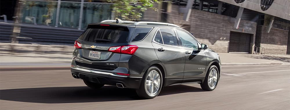 Chevy Equinox Driving Rear View