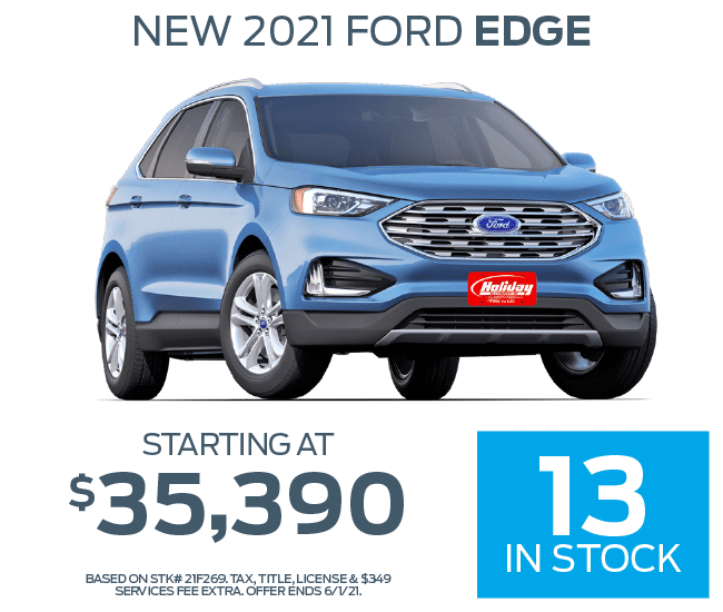 Buy a new Ford Edge starting at $35,390