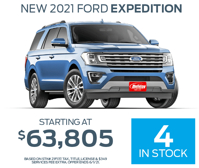 Buy a new Ford Expedition starting at $63,805