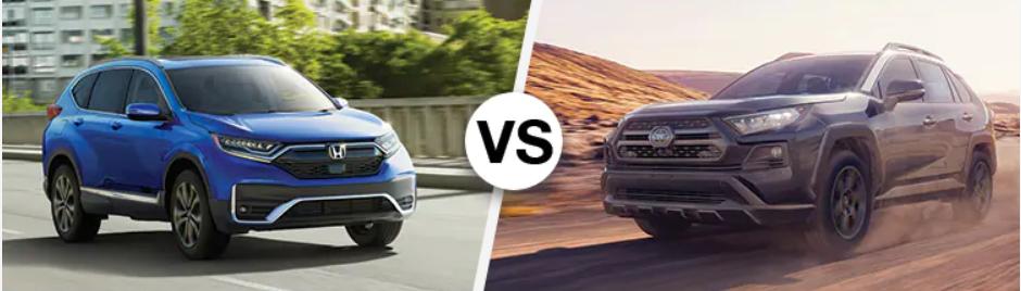 CR-V vs Rav4