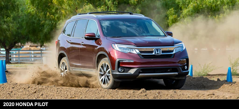 2020 Honda Pilot vs 2020 Subaru Ascent