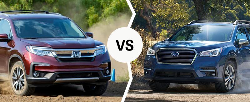 2020 Honda versus 2020 Subaru