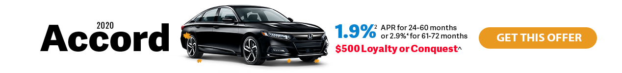 2020 Honda Accord at Jay Honda of Bedford