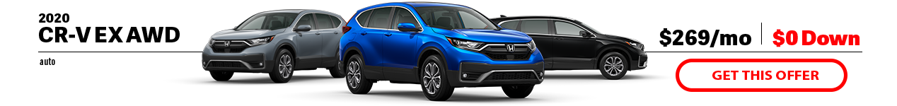 2020 Honda CR-V EX at Jay Honda of Bedford