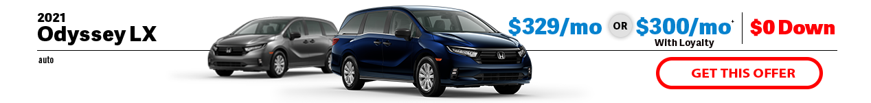 2021 Honda Odyssey LX at Jay Honda of Bedford