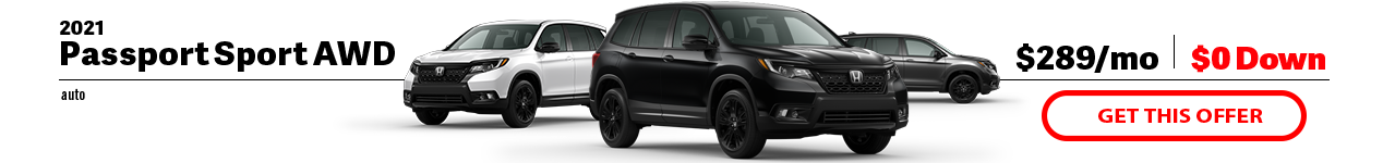 2021 Honda Passport Sport at Jay Honda of Bedford