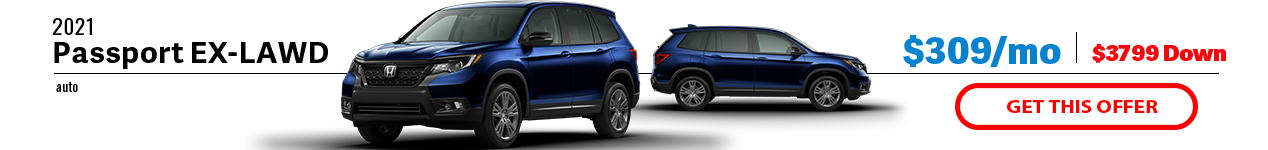 2021 Honda Passport EX-L AWD