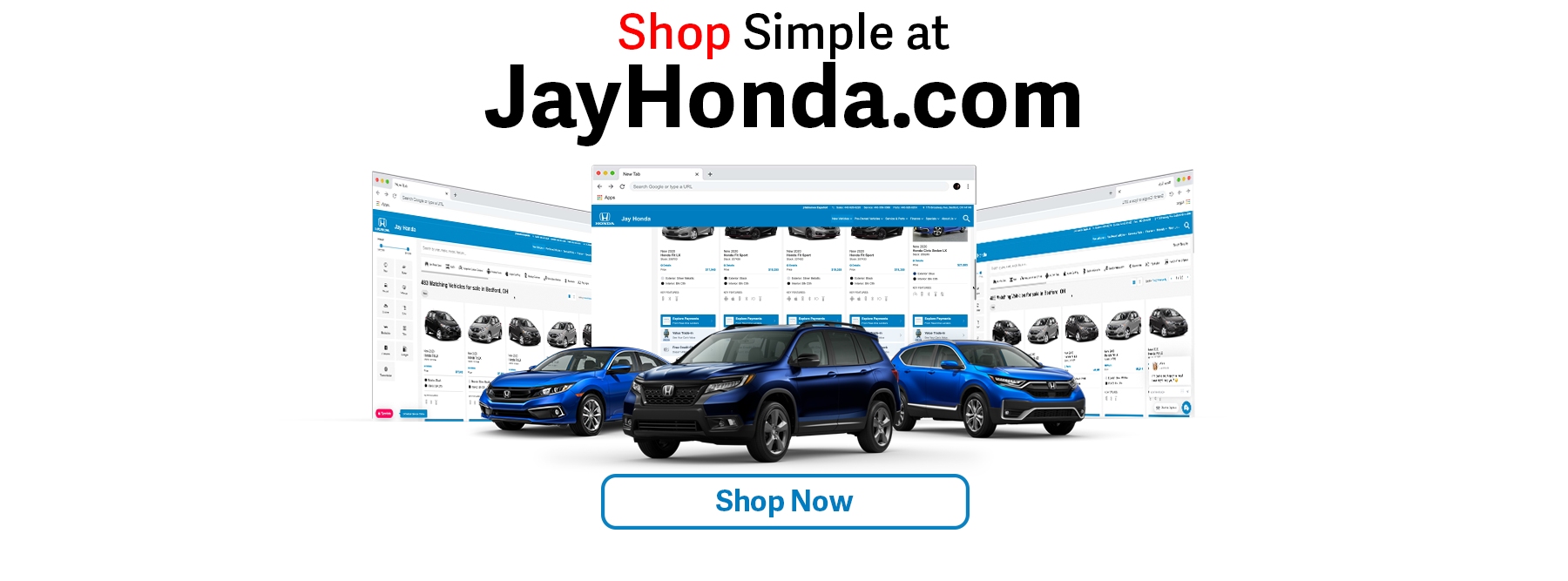 Shop Simple at Jay Honda