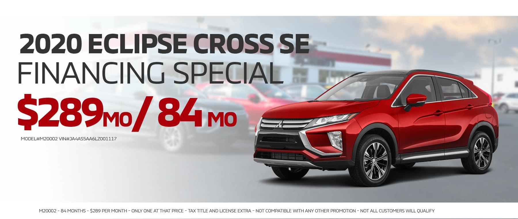 ECLIPSE CROSS PURCHASE