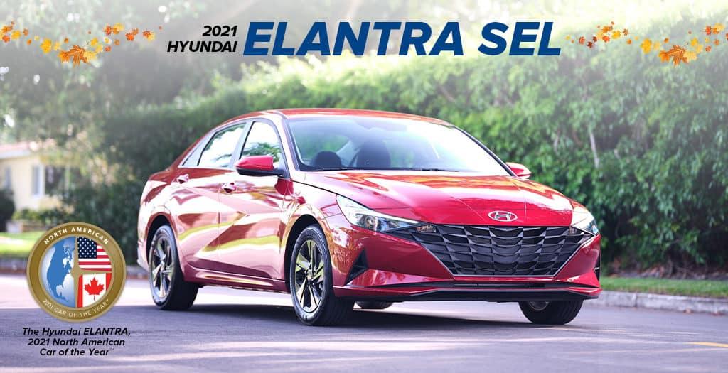 <center> 2021 Hyundai Elantra SEL</center>
