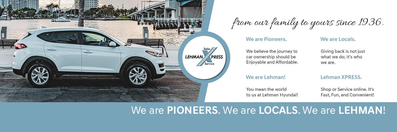 Lehman Hyundai - your local dealer in Miami Gardens FL