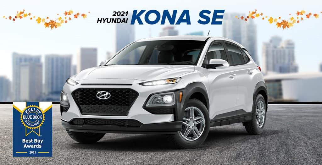 <center> 2021 Hyundai Kona SE </center>