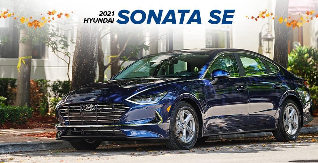 <center> 2021 Hyundai Sonata SE </center>