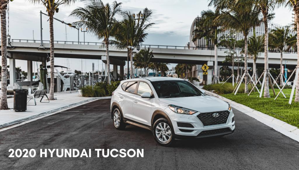 <center> 2020 Hyundai Tucson SE </center>