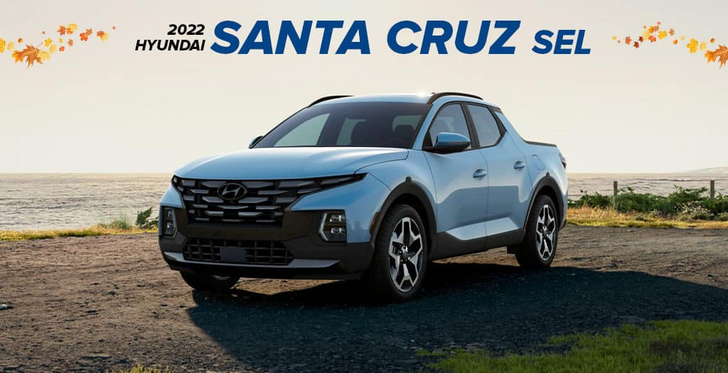 <center> 2022 Hyundai Santa Cruz SEL</center>