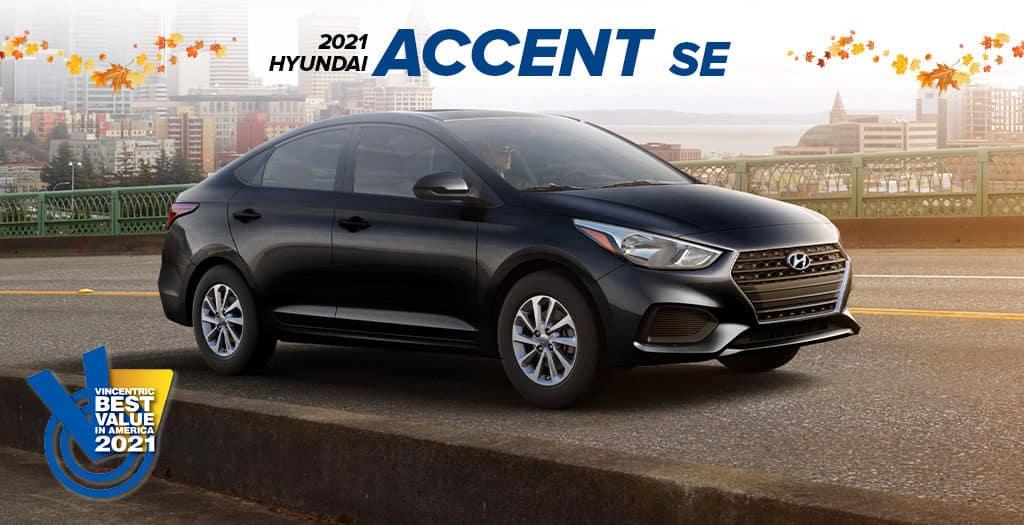 <center> 2021 Hyundai Accent SE </center>