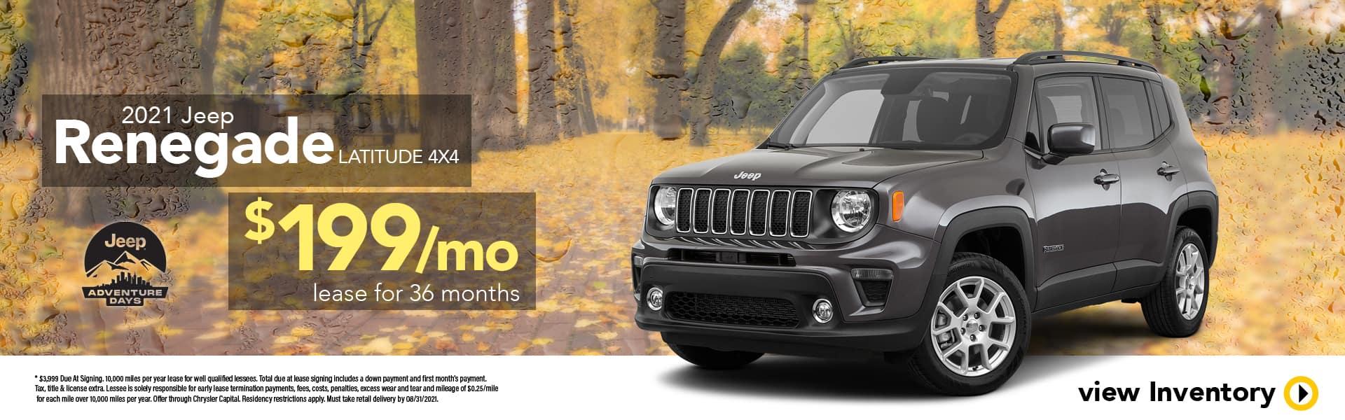 2021 Jeep Renegade Latitude 4x4