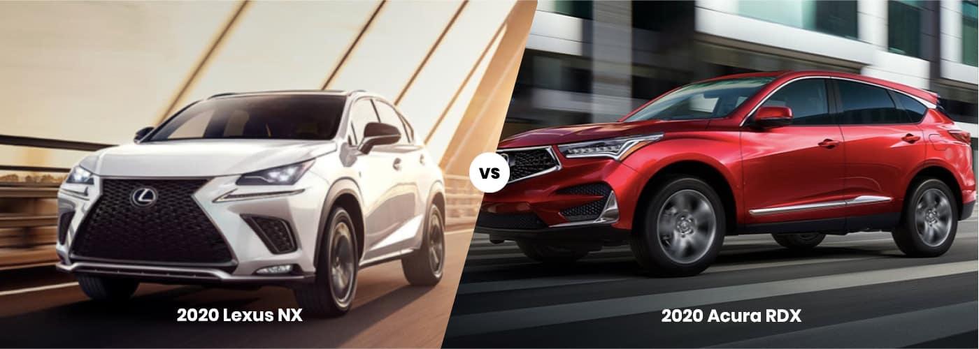 2020 Lexus NX vs 2020 Acura RDX