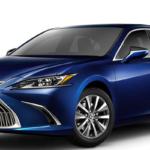 Blue 2020 Lexus ES