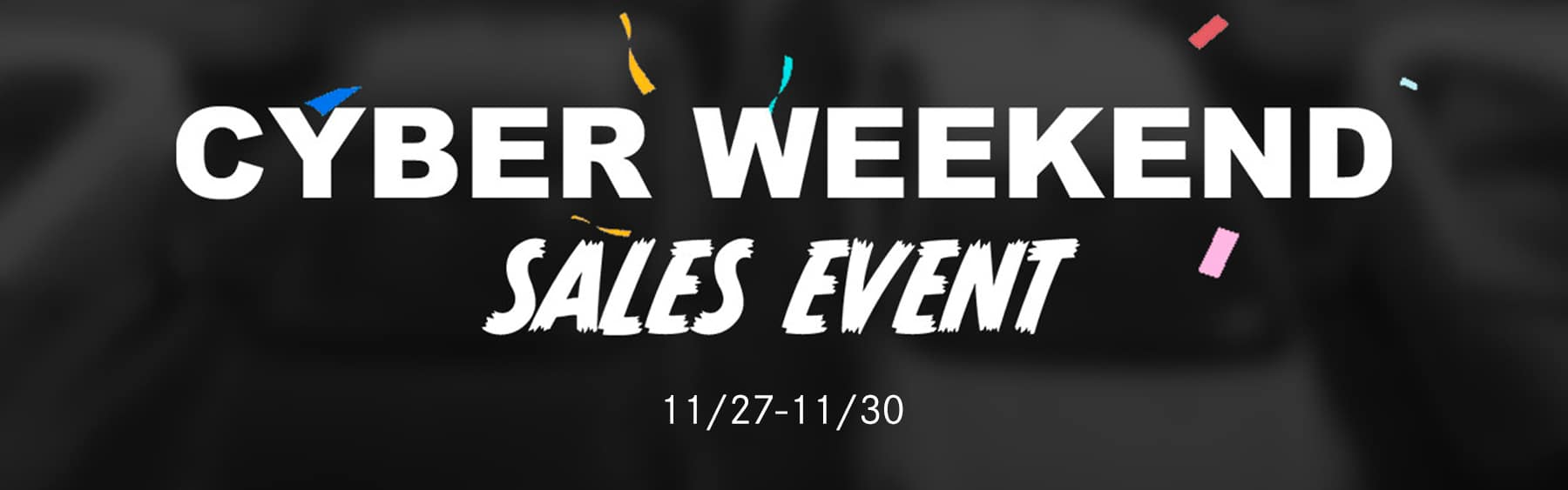 Cyber Sales Event