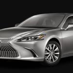 Silver 2020 Lexus ES