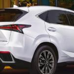 White Lexus NX