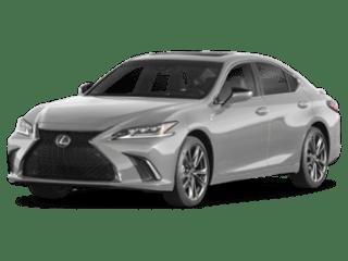 Model Image - 2019 Lexus ES angled