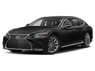Model Image - 2019 Lexus LS angled