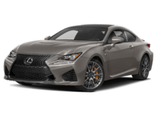 Model Image - 2019 Lexus RC F angled