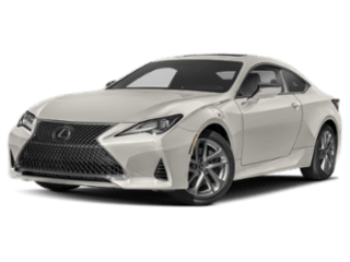 Model Image - 2019 Lexus RC angled