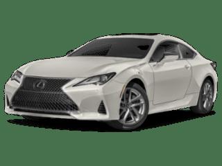 Model Image - 2019 Lexus RC angled