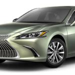Olive Green Lexus ES