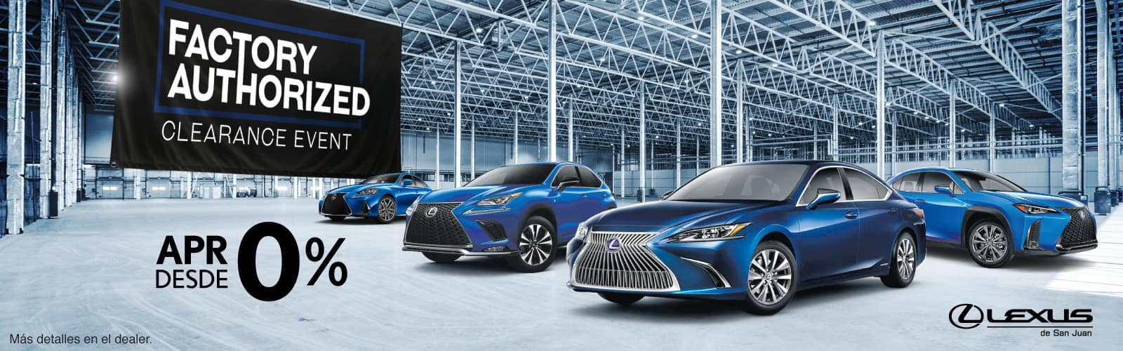 Lexus Authorized Clearance Event Octubre Web Banners 3