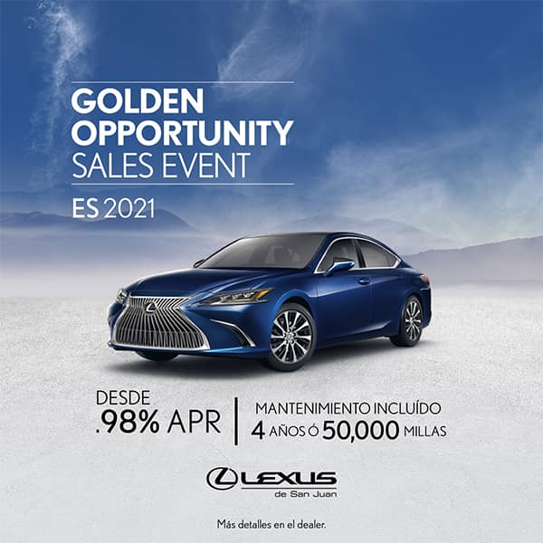 Lexus Performance ES 2021 desde el 0.98% APR