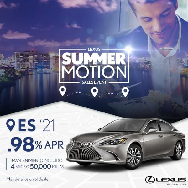 Summer Motion ES 2021 desde el 0.98% APR