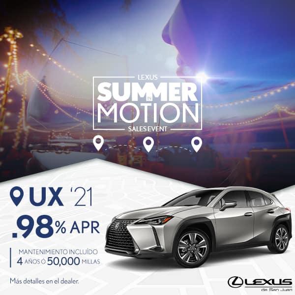 Summer Motion UX 2021 desde el 0.98% APR