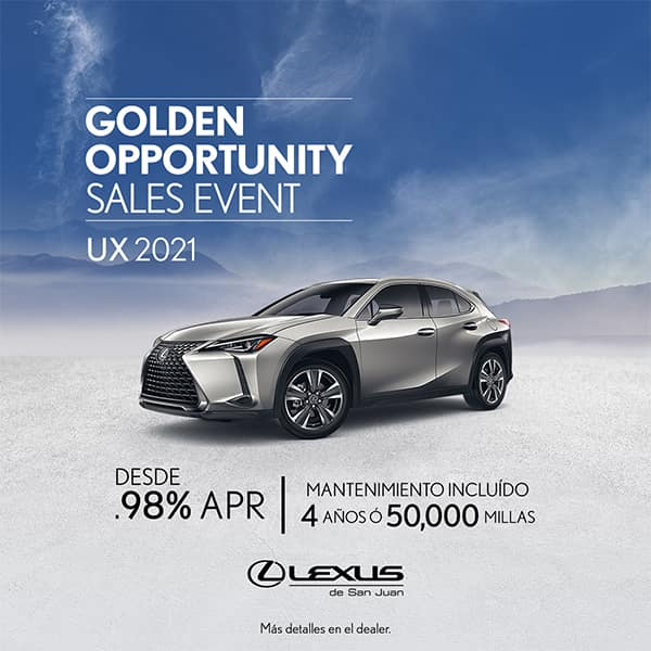 Lexus Performance UX 2021 desde el 0.98% APR